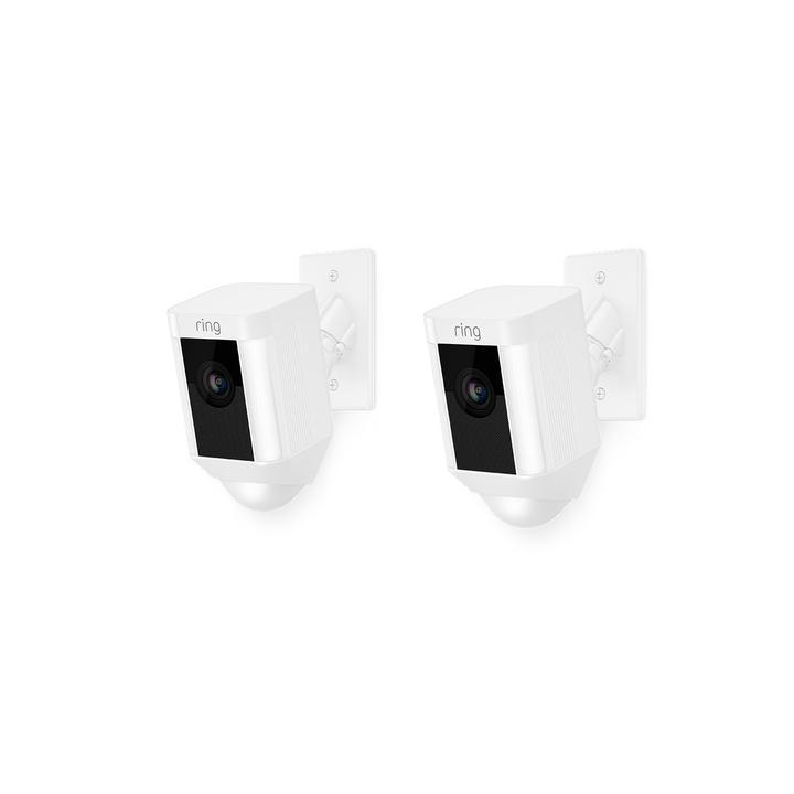 2-Pack Spotlight Cam Mount - White