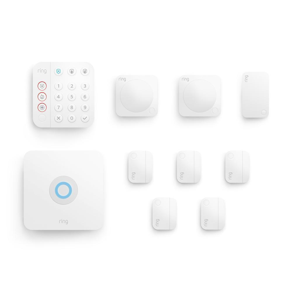 Alarm Security Kit, 10-Piece (for 2nd Generation) - White