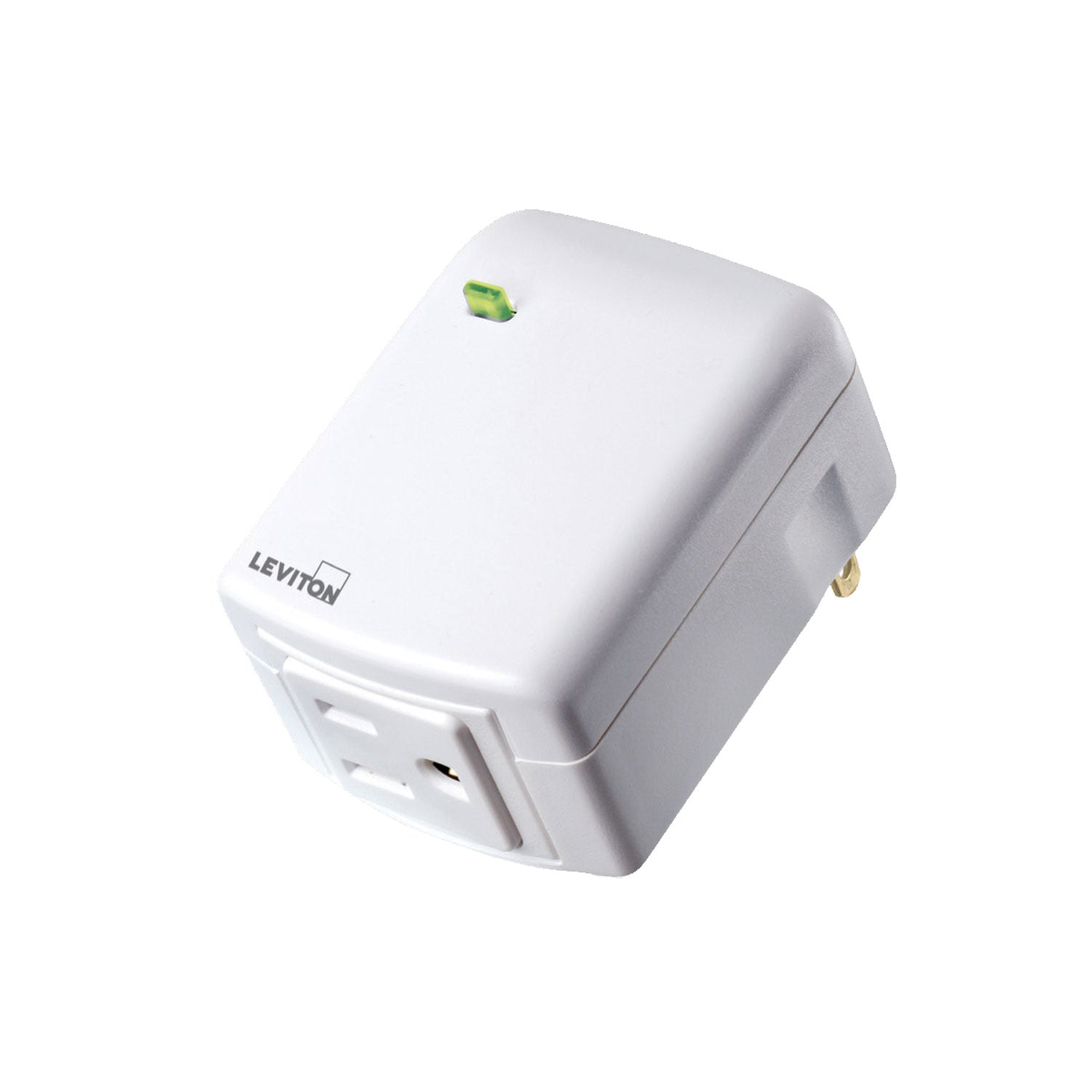 Leviton Decora Smart Plug-In Outlet (for Works with Ring Alarm Security System) - White