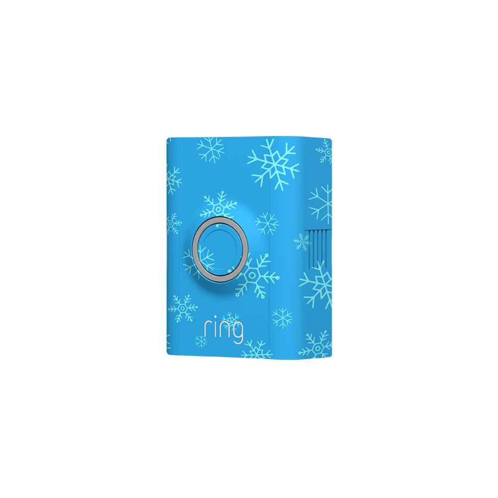 Holiday Interchangeable Faceplate (for Video Doorbell 2) - Snowflakes