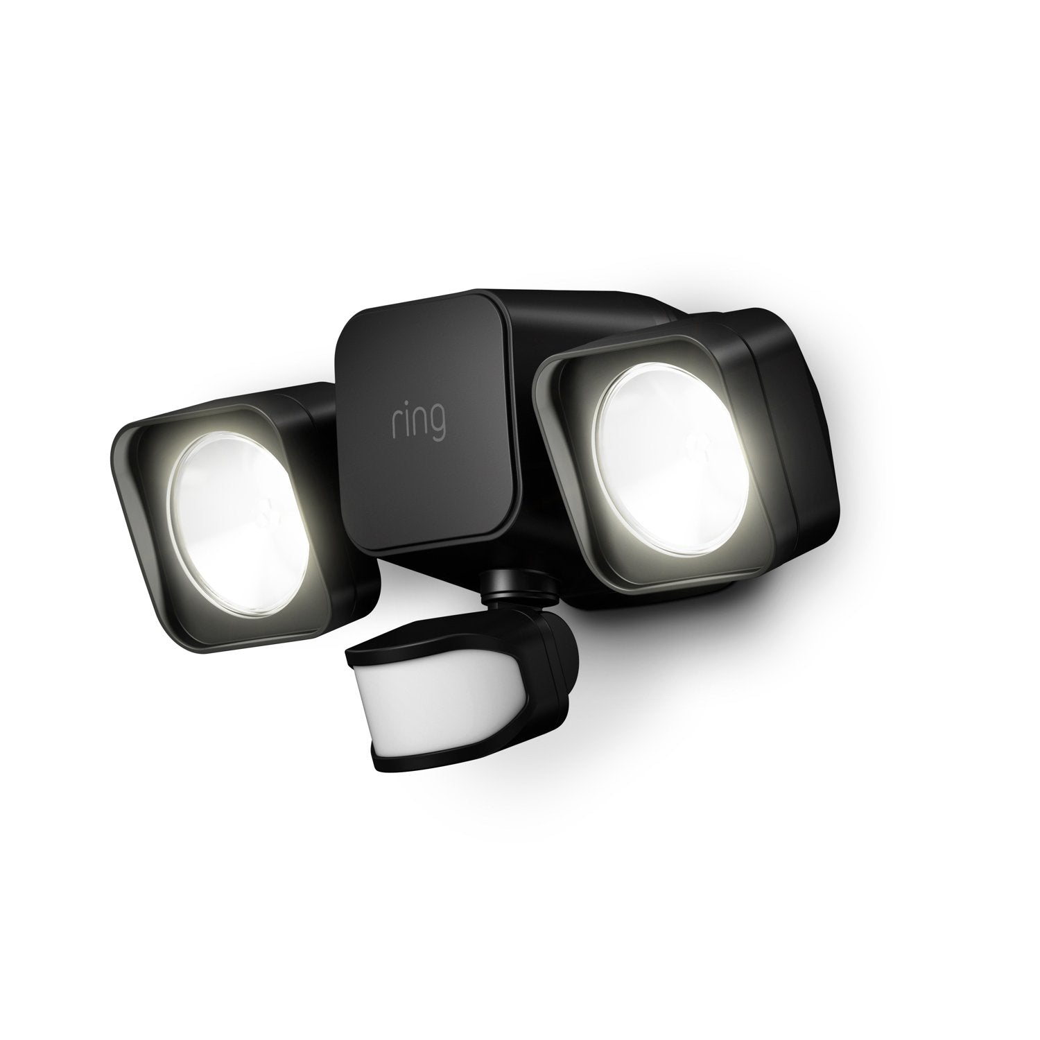 Ring Smart Lighting Wired Floodlight - Black
