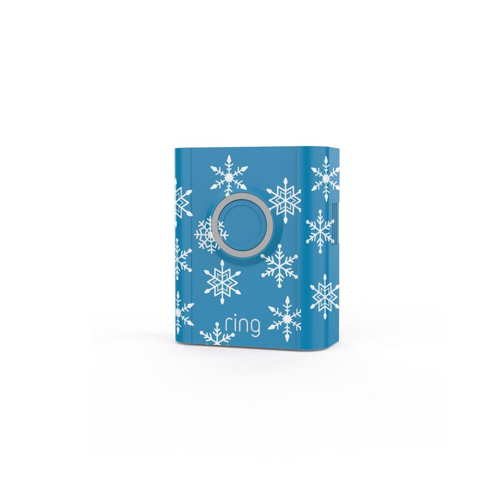Holiday Interchangeable Faceplate (for Video Doorbell 3, Video Doorbell 3 Plus, Video Doorbell 4) - Snowflakes