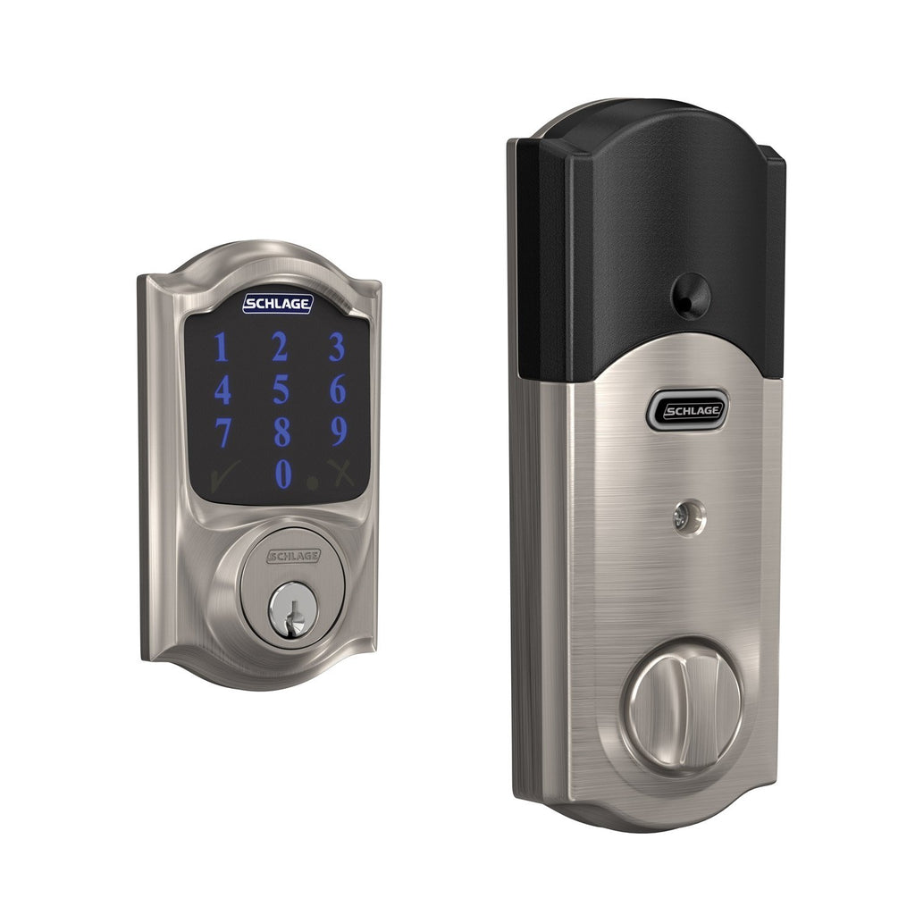 Add The Schlage Connect Smart Z Wave Plus Deadbolt To Your