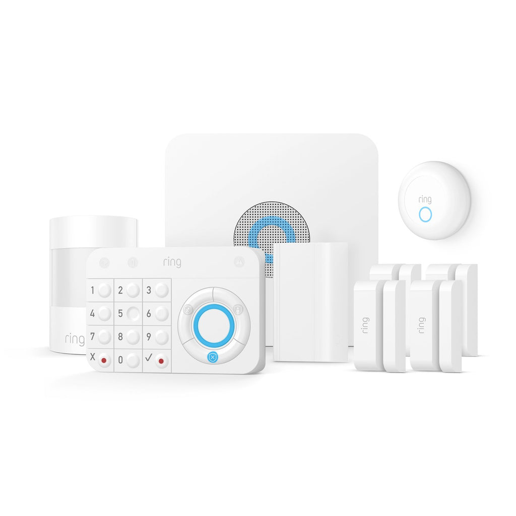 Alarm Smoke Amp Co Protection Kit Smart Home Security Ring