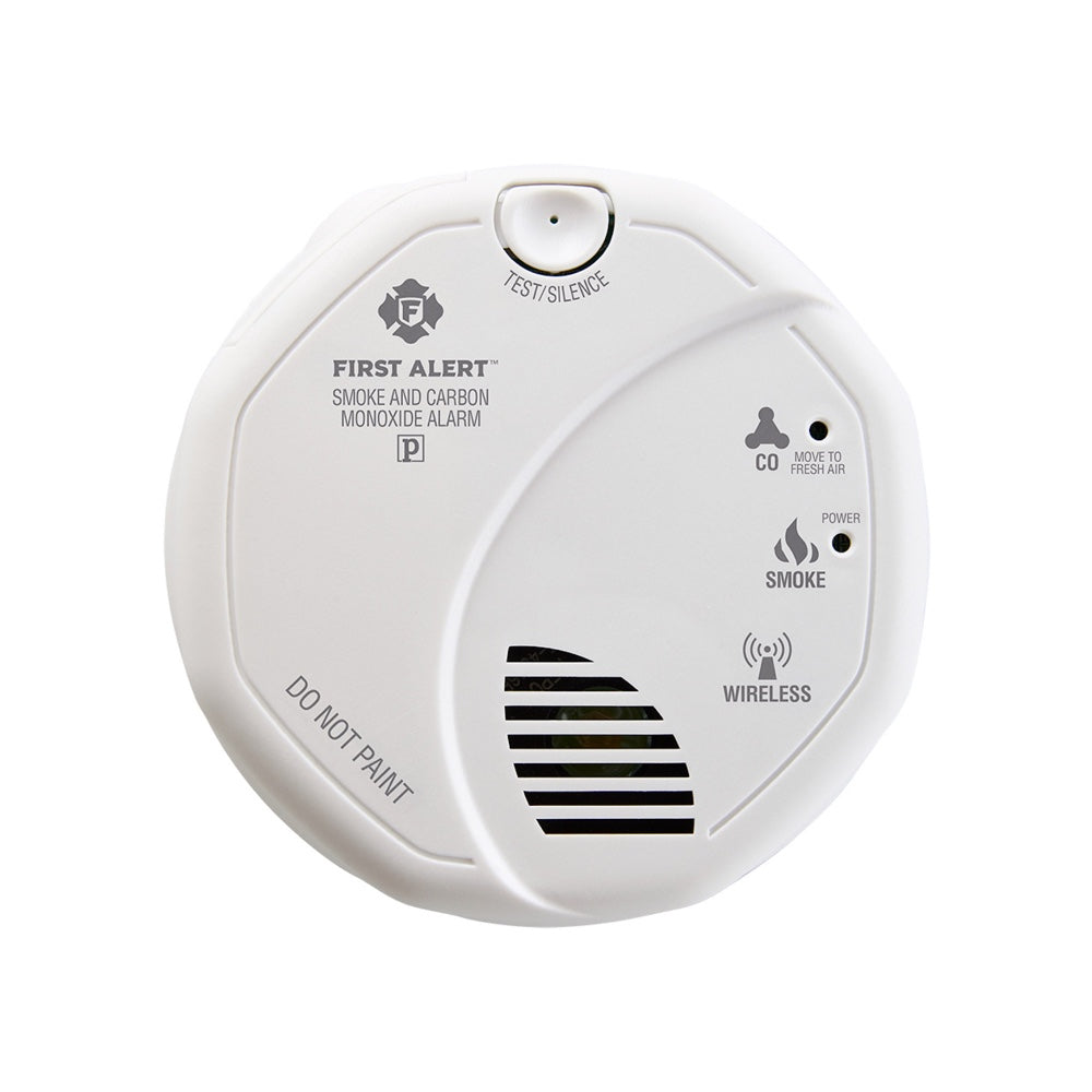 First Alert Z-Wave Plus Smoke/CO Alarm (2nd Gen) (for Works with Ring Alarm Security System) - White