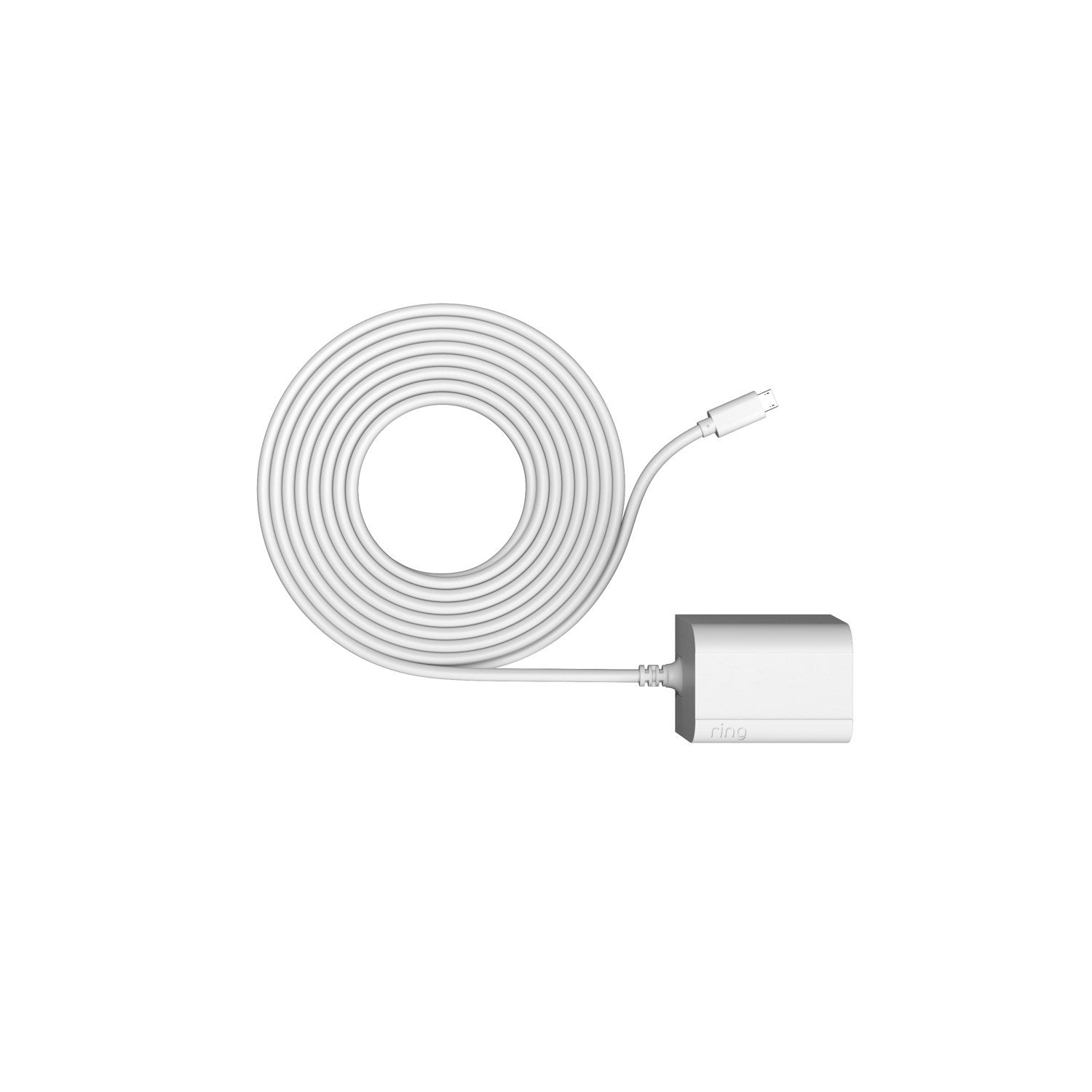 Indoor/Outdoor Power Adapter (Micro USB) (for Stick Up Cam Wired and Elite 2nd Generation) - White