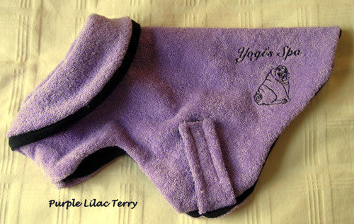 Yogi's Spa after Bath Wear - Standard Size Only/Custom Not Available