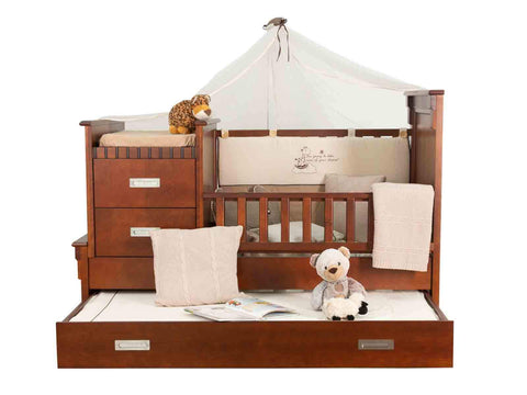 CAMA INFANTIL TEEN CONTEMPORANEO BLANCO