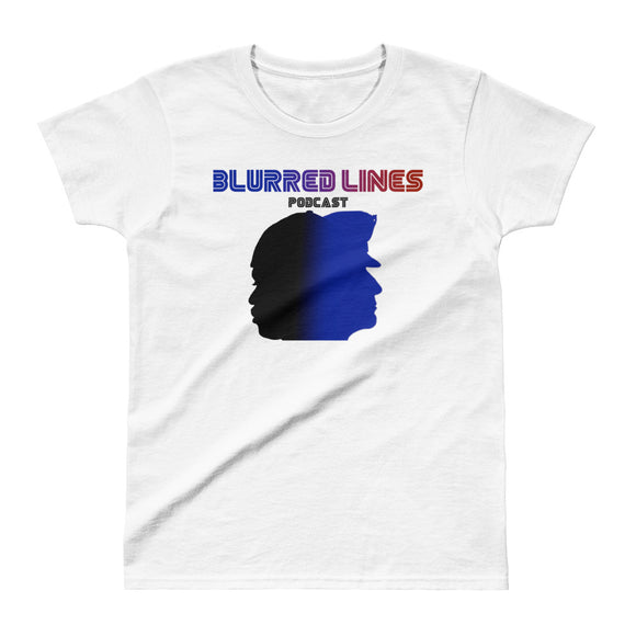 Blurred Lines Women's T-shirt