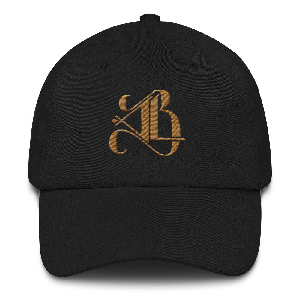 Logo Dad Cap - Royal Gold Embroidery