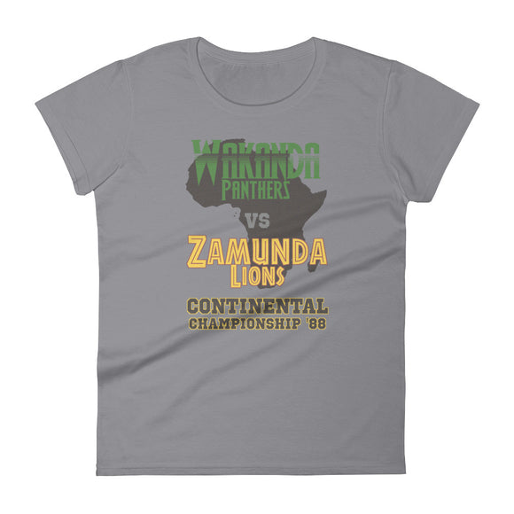 Wakanda vs. Zamunda '88 Women's T-Shirt