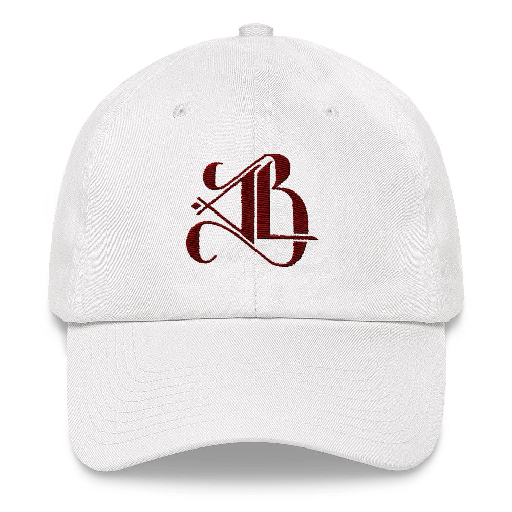 Logo Dad Cap - Maroon Embroidery