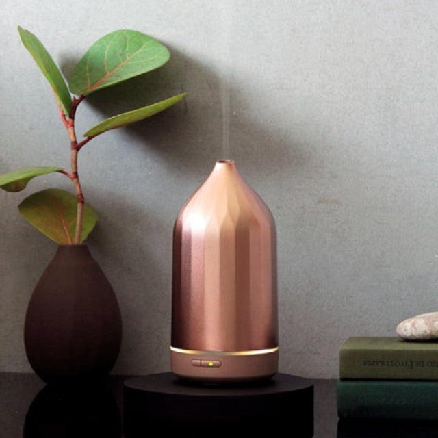 Ridge Aroma Diffuser, Rose Gold, 100ml.