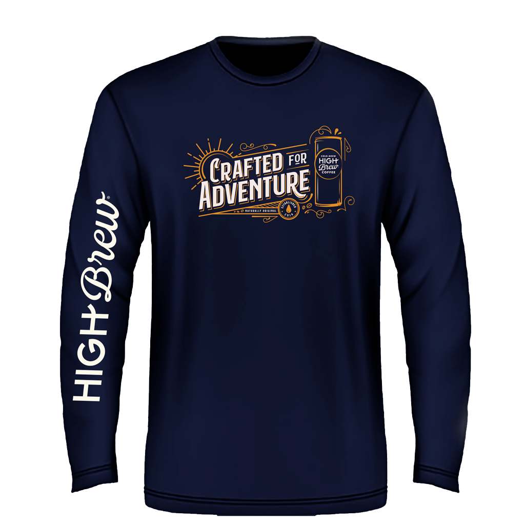 Navy Crafted for Adventure Long Sleeve