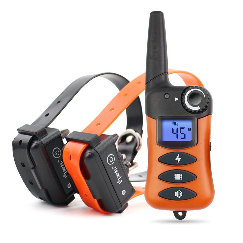 Ipets 620-2 100% Waterproof & Rechargeable Dog Shock Collar 900 ft Remote Dog Training Collar