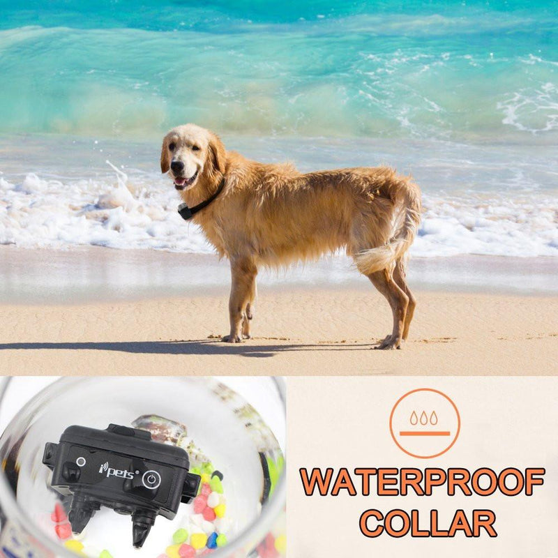IPets PET619S-1 Waterproof Shock Collar