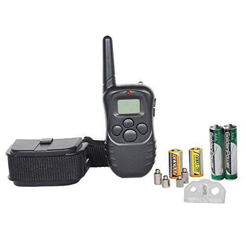 Petrainer PET998D1 E-Collar Package Contents