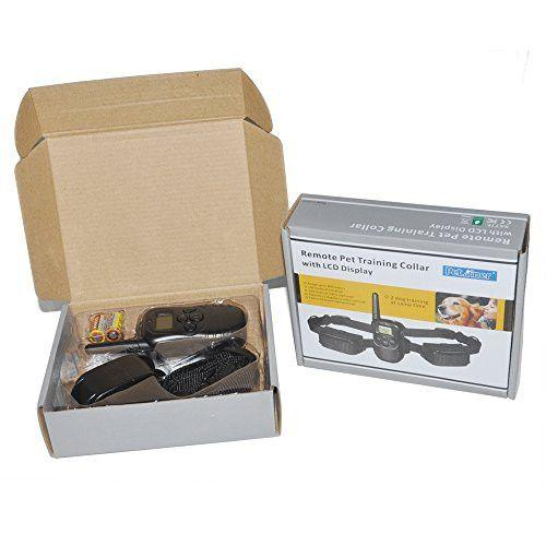Petrainer PET998D1 E-Collar Package Contents Packaging
