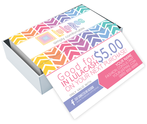Custom LuLaRoe Business Card Design 17