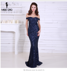 Missord 2018 bra party dress sequin maxi dress FT4912