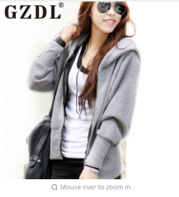 GZDL Jackets Women  New Fashion Women's Hoodie Clothing Long Sleeve Pockets Basic Casual Thin Female Outwear Coats CL3245