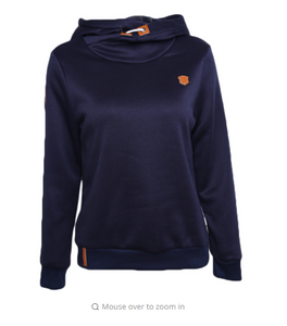 New Women Long Sleeve Slim Casual Hooded Pullover Draw Cord Classic Hooded Sweatshirts Women  Coat JH904256
