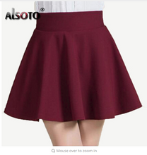 New 2018 Summer style  Skirt for Girl lady Korean Short Skater Fashion female mini Skirt Women Clothing Bottoms
