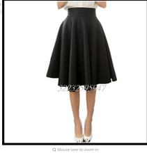 Paige Skirts Space cotton  Grown Place Umbrella Skirt Retro Waisted Body Skirt New Europe And The Code Word Pleated