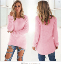 Fashion Ladies Sweater Coat Long Sleeve Soft Smooth Warm