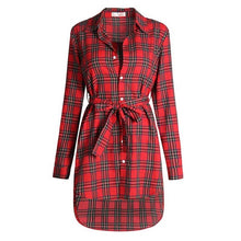 Women Blouses Long Sleeve Plaid Shirts Turn Down Collar Shirt Casual Tunic Feminine Irregular Blouses Plus Size Tops LJ5932M