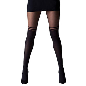 Stockings Medias Knee Socks Women Thigh Highs  Stocking Female Pantyhose Top Knee  Long Socks