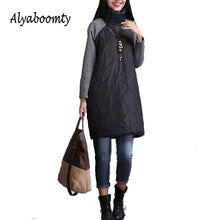 Plus Size  Women Dress M-3XL Turtleneck Casual Loose Patchwork Robe Cotton Soft Black Gray Red Tunic Vestidos