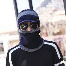 XUYIJUN Winter Hats Skullies beanies Winter Caps Hats For Men Women Wool Scarf Caps Masks Hood Knit Hat