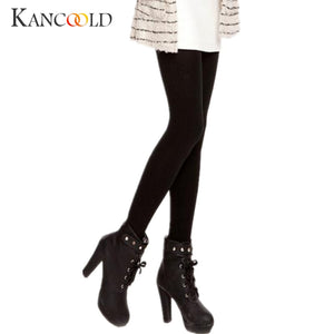 New  Fashion Women Plus Cashmere Tights High Quality Knitted Velvet Tights Elastic Slim Warm Thick Tights Dc9