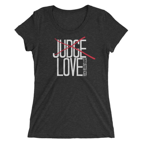 """Love"" Ladies Short Sleeve T-shirt"