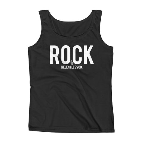 """Rock"" Ladies Tank"