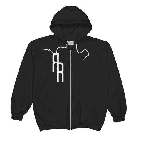 """Rock Relentless"" Unisex  Zip Hoodie"