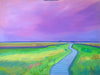 Marsh Fling (Plum Island) oil on canvas