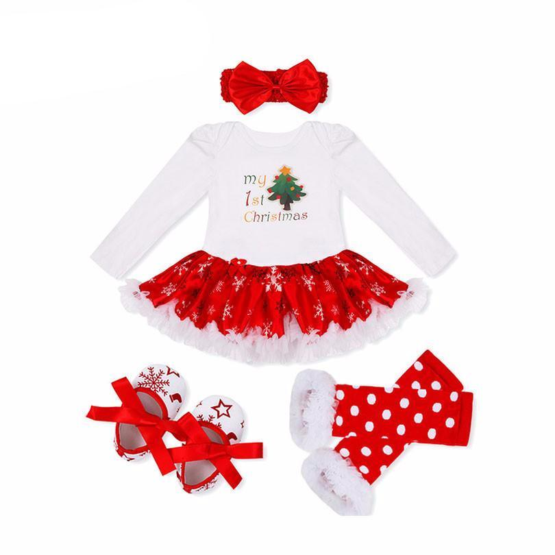Girl\'s Christmas Outfit Set - My Cute Tot