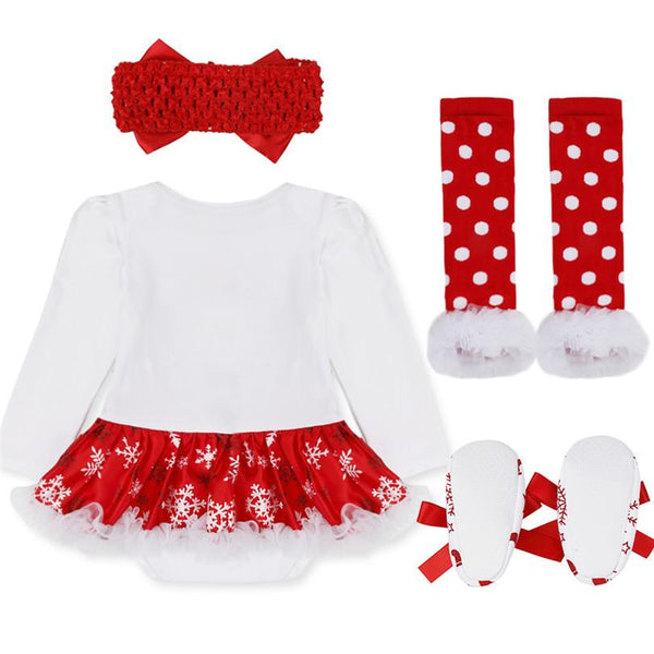e02dff1c1 Girl's Christmas Outfit Set - My Cute Tot