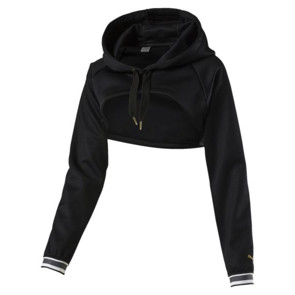 Puma Varsity Cropped Cover-Up Women's Hoodie