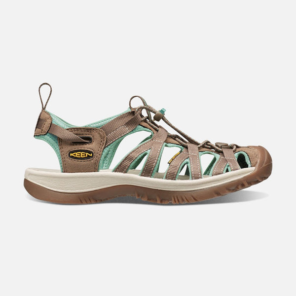 WOMEN'S KEEN WHISPER SHITAKE/MALACHITE SANDALS