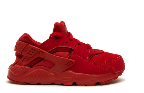 NIKE KIDS HUARACHE RUN PRESCHOOL-UNIVERSITY RED