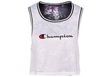 CHAMPION REVERSIBLE MESH CROP TANK - WOMEN'S