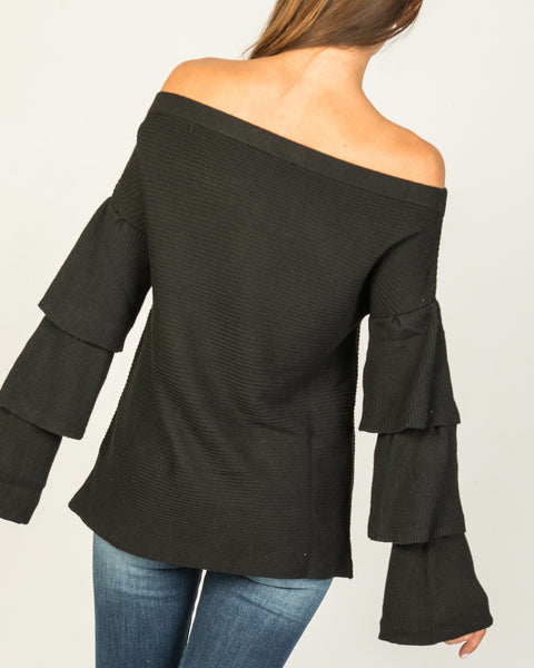 Jo off the Shoulder Sweater