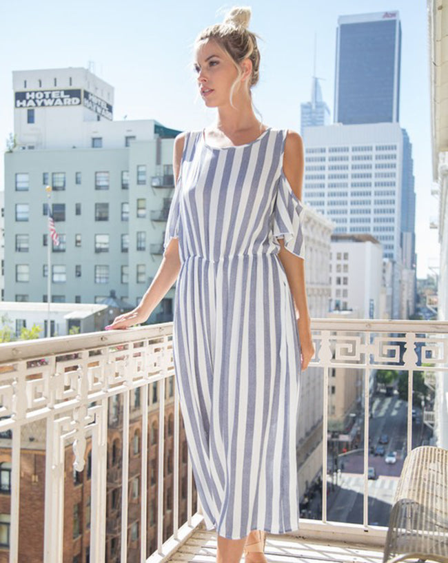 Jenna Striped Jumpsuit