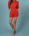 Raquel Red Romper