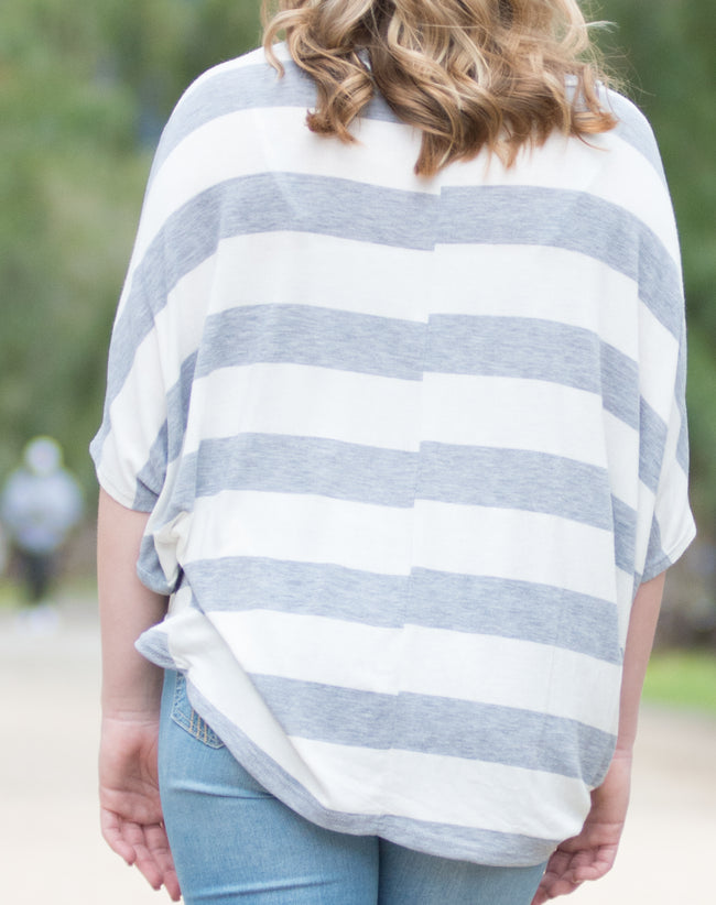 Salina Striped Top