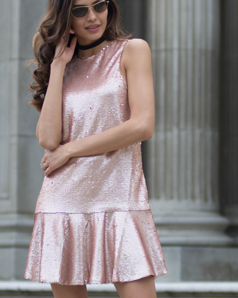 Jane Sequin Dress