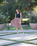 Noemi Metallic Skirt
